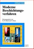 Moderne Beschichtungsverfahren, Bach, 3527301178