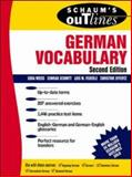 German Vocabulary, Feuerle, Lois M. and Effertz, Christine, 0070711178