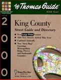 King County; Street Guide and Directory, 2000 edition., Thomas Brothers Maps Staff, 1581741170