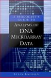 A Biologist's Guide to Analysis of Dna Microarray Data, Knudsen, 0471461180