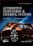 Automotive Suspension and Steering Systems, Knowles, Don, 1435481186