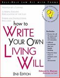 How to Write Your Own Living Will, Haman, Edward A., 1572481188