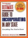 Ultimate Guide to Incorporating in Any State, Spadaccini, Michael, 1932531181