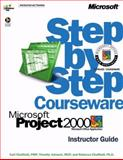 Microsoft Project 2000 Step by Step Courseware Trainer Pack, Johnson, Timothy and Chatfield, Carl, 0735611181