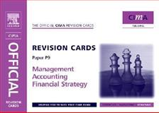 CIMA Revision Cards Management Accounting Financial Strategy, Ogilvie, John, 0750681187