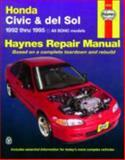 Honda Civic and Del Sol, 1992-1995, John Haynes and Haynes Automobile Repair Manuals Staff, 1563921189