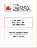 International Fire Safety Conference 9781587161186