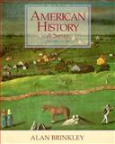 American History : A Survey, Brinkley, Alan and Current, Richard Nelson, 0079121187