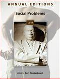 Annual Editions: Social Problems 13/14, Finsterbusch, Kurt, 0078051193