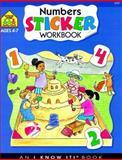 Numbers Sticker Workbooks, School Zone Publishing Company Staff, 0887431194