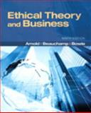 Ethical Theory and Business, Beauchamp, Tom L. and Bowie, Norman L., 0205201199