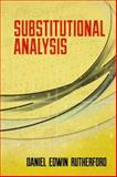 Substitutional Analysis, Rutherford, Daniel Edwin, 048649120X