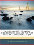Chroniques Gréco-Romanes, Carl Hermann Friedrich Johann Hopf, 1143821203