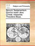 Novum Testamentum Domini Nostri Jesu Christi, See Notes Multiple Contributors, 1170301207