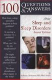 100 Questions and Answers about Sleep and Sleep Disorders, Sudhansu Chokroverty, 0763741205