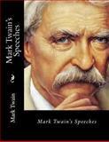 Mark Twain's Speeches, Mark Twain, 1482311208