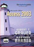 Exploring Microsoft Access 2003 Comprehensive and Student Resource CD Package, Grauer, Robert T. and Barber, Maryann, 0131791206