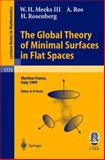 The Global Theory of Minimal Surfaces in Flat Spaces : Martina Franca, Italy 1999, Meeks, W. H., III and Ros, A., 3540431209