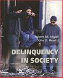 Delinquency in Society : With Making the Grade, Regoli, Robert M. and Hewitt, John D., 0072821205
