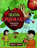 Creating Literacy Instruction for All Students, MyLabSchool Edition, Gunning, Thomas G., 0205451217