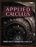 Applied Calculus, Hughes-Hallett, Deborah and Gleason, Andrew M., 0471681210