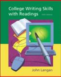 College Writing Skills with Readings, Langan, John, 0072381213