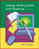 College Writing Skills with Readings, Langan, John, 0072381213