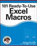 101 Ready-to-Use Excel Macros, Michael Alexander, 1118281217