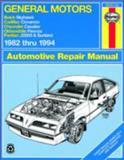 General Motors J-Cars, 1982-1994, John Haynes and Haynes Publications Staff, 1563921219