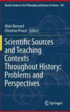 Scientific Sources and Teaching Contexts Throughout History : Problems and Perspectives, , 9400751214