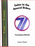 Index to the General Orders of the 71st Infantry Division, in World War II, , 1932891218