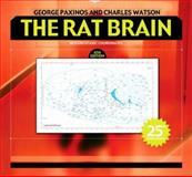 The Rat Brain in Stereotaxic Coordinates : Hard Cover Edition, Paxinos, George and Watson, Charles, 0123741211