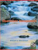 Operations Management with Student DVD and Power Web, Stevenson, William J., 0072971223