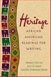 Heritage : African American Readings for Writers, Jarrett, Joyce M. and Mbalia, Doreatha D., 0130141224