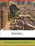 Report, Pennsylvania State University, 1275321224