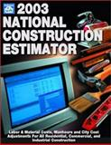 National Construction Estimator, 2003, Dave Ogershok, 1572181222