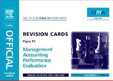 CIMA Revision Cards Management Accounting Performance Evaluation, Scarlett, Robert, 0750681233