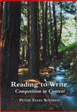 Reading to Write : Composition in Context, Sotiriou, Peter Elias, 0155061232
