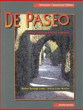 De Paseo : Curso Intermedio de Espanol, Long, Donna Reseigh and Macián, Janice Lynn, 083848123X