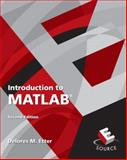Introduction to MATLAB, Etter, Delores M., 0136081231