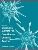 Quantitative Chemical Analysis, Harris, Daniel C., 1429231238