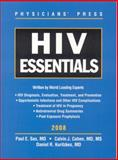 HIV Essentials, Sax, Paul E. and Cohen, Calvin J., 0763761249