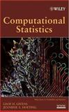 Computational Statistics, Givens, Geof H. and Hoeting, Jennifer A., 0471461245