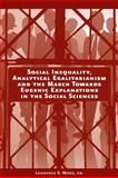 Social Inequality, Analytical Egalitarianism and the March Towards Eugenic Explanations in the Social Sciences, , 1405191244