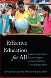 Effective Education for All, Chun Zhang, 1433121247