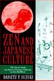 Zen and Japanese Culture, Suzuki, D. T., 1567311245