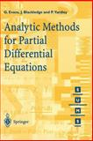 Analytic Methods for Partial Differential Equations, Evans, G. A. and Blackledge, J. M., 3540761241