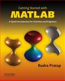 Getting Started with MATLAB, Pratap, Rudra, 0199731241