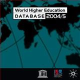 World Higher Education Database 2004/5 : Network Version, International Association for the Evaluation of Educational Achievement Staff and International Association of Universities Staff, 1403921245