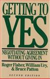 Getting to Yes, Roger Fisher and William L. Ury, 0395631246